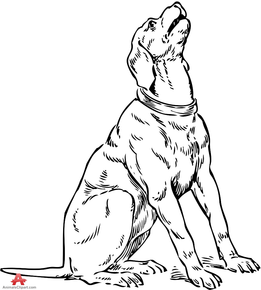 sitting dog coloring pages drawing of dog sitting clip art library dog sitting pages coloring