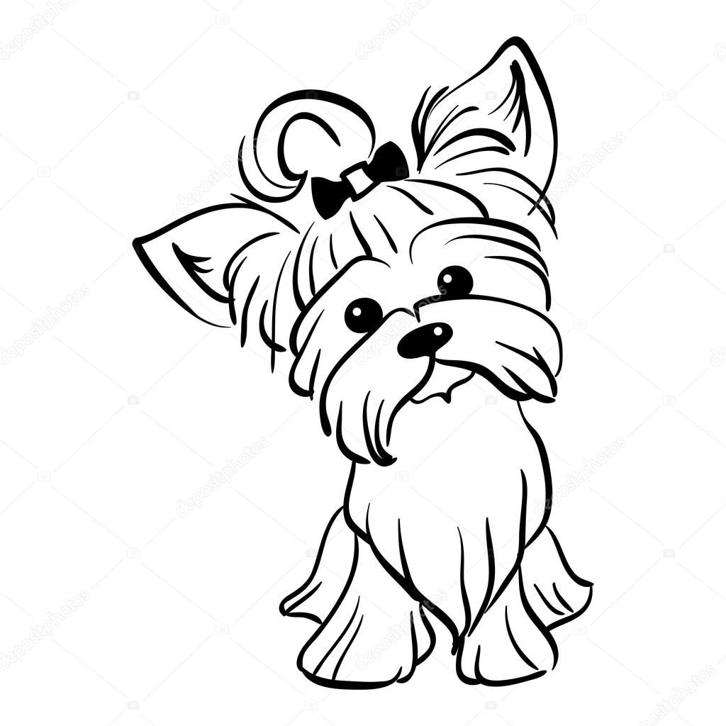 sitting dog coloring pages yorkie coloring pages sketch coloring page with images dog sitting pages coloring