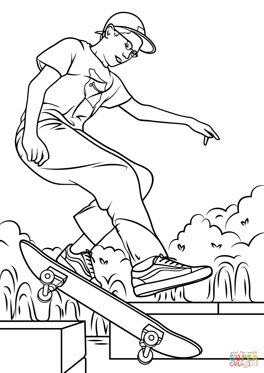 skateboard colouring pages skateboard coloring download skateboard coloring for free skateboard pages colouring
