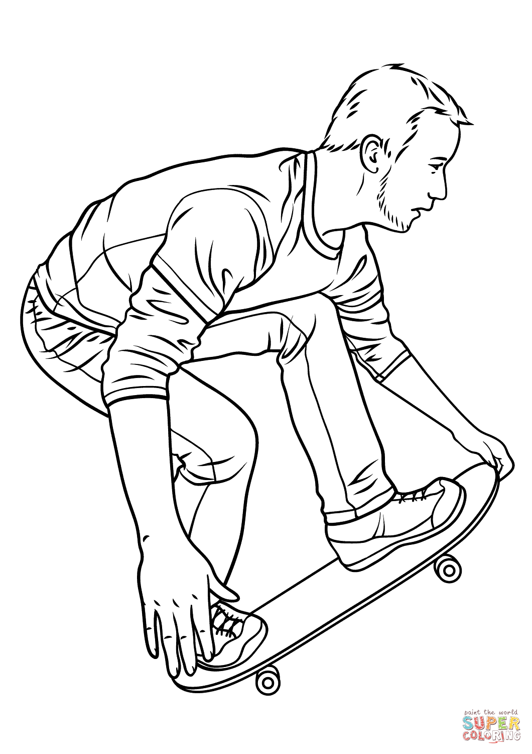 skateboard colouring pages skateboard coloring pages learn to coloring pages colouring skateboard
