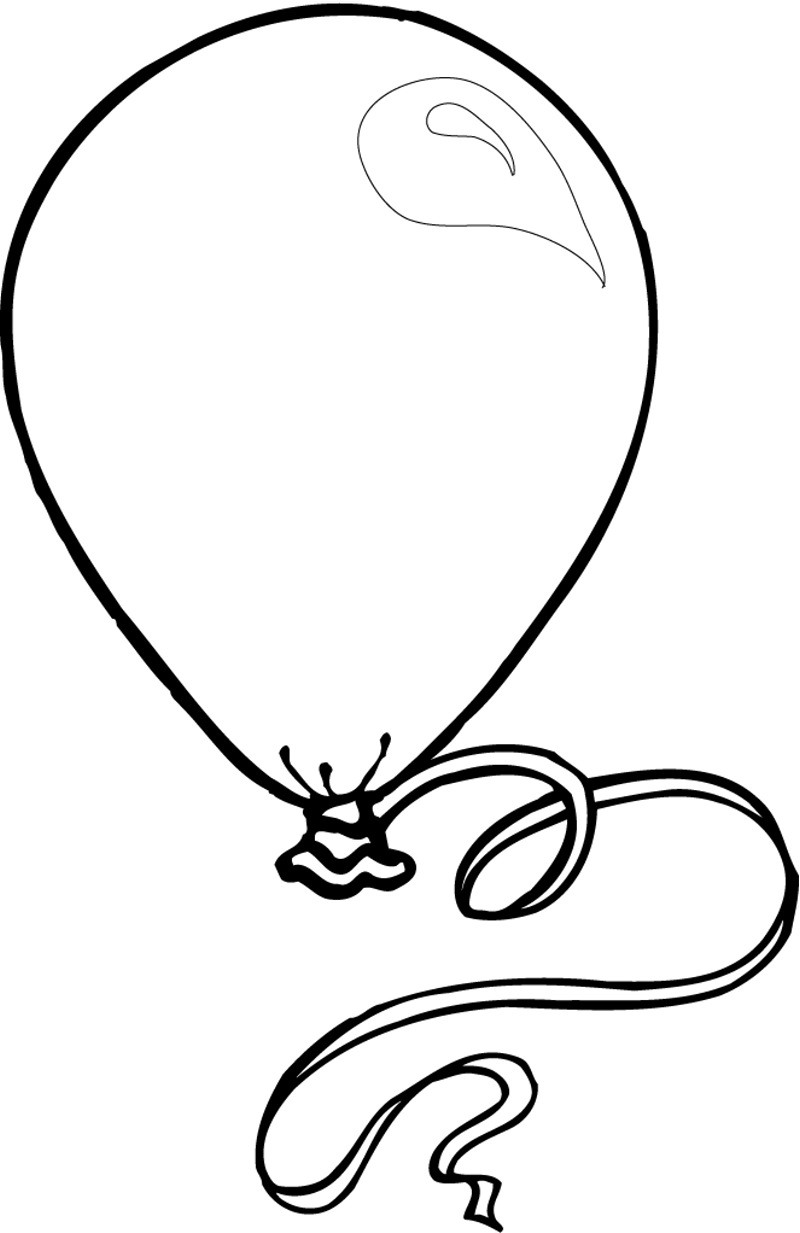 sketch of a balloon balloon line drawing at getdrawings free download a balloon of sketch