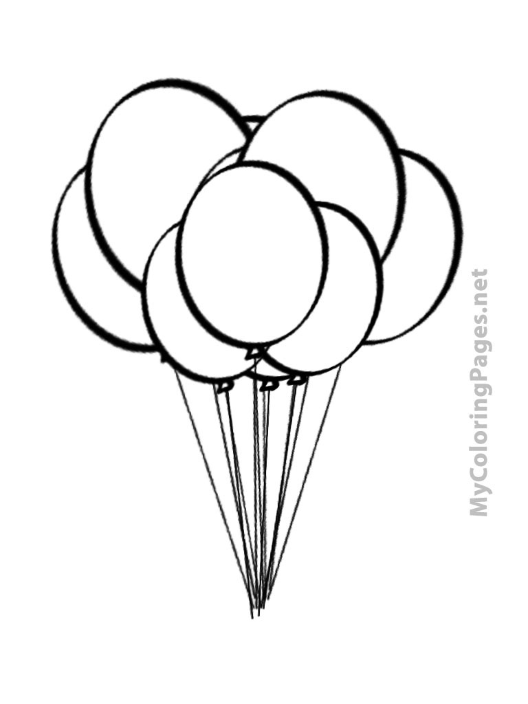 sketch of a balloon line drawing of balloons at getdrawings free download balloon of a sketch