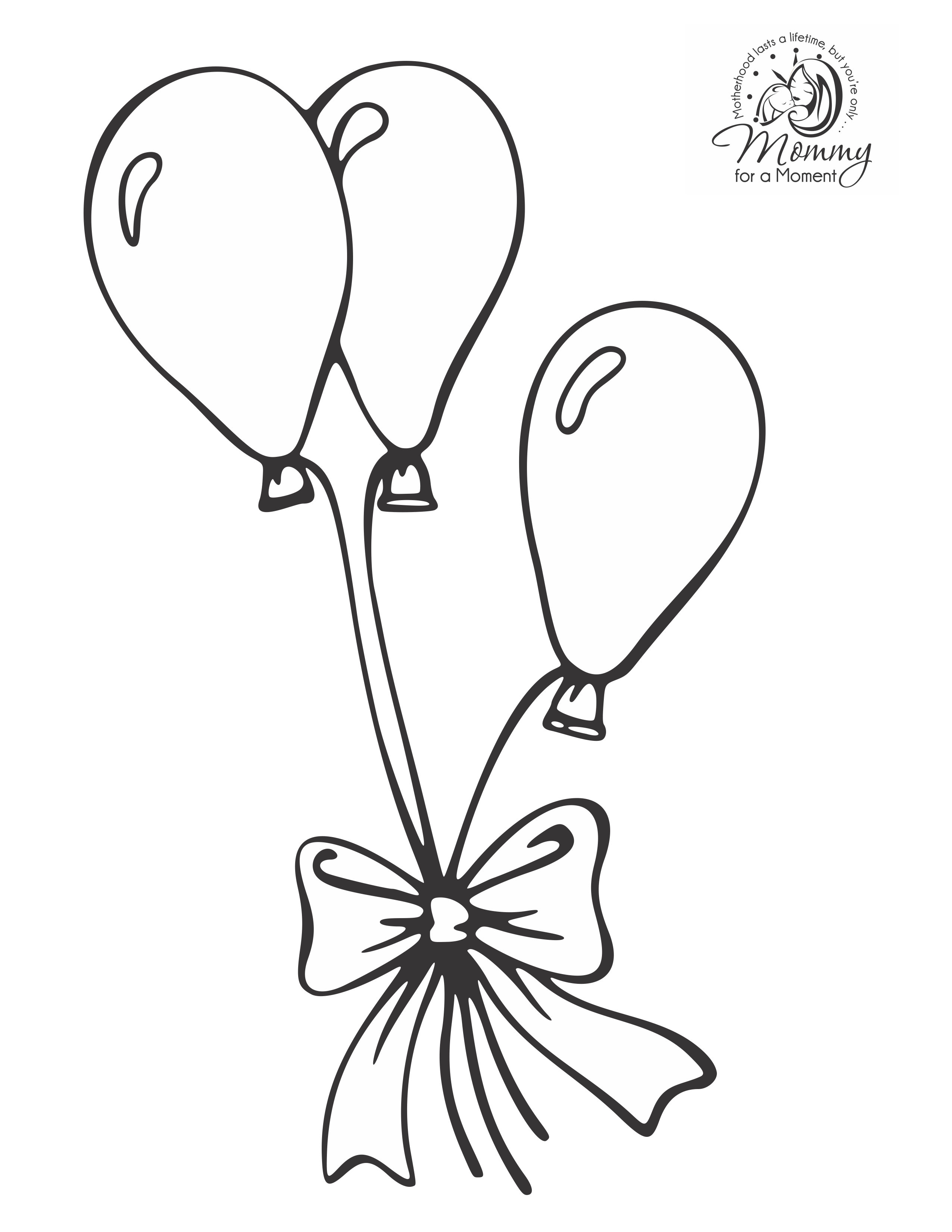 sketch of a balloon line drawing of balloons at getdrawings free download of balloon a sketch