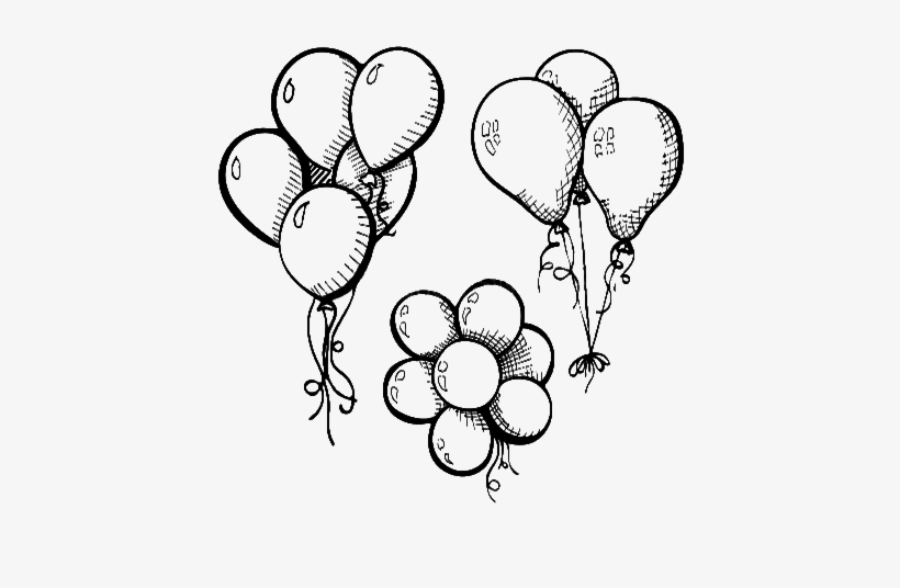 sketch of a balloon party balloons drawing at getdrawings free download balloon sketch of a
