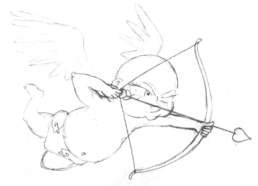 sketch of cupid cupid clipart cupid and psyche cupid cupid and psyche sketch of cupid