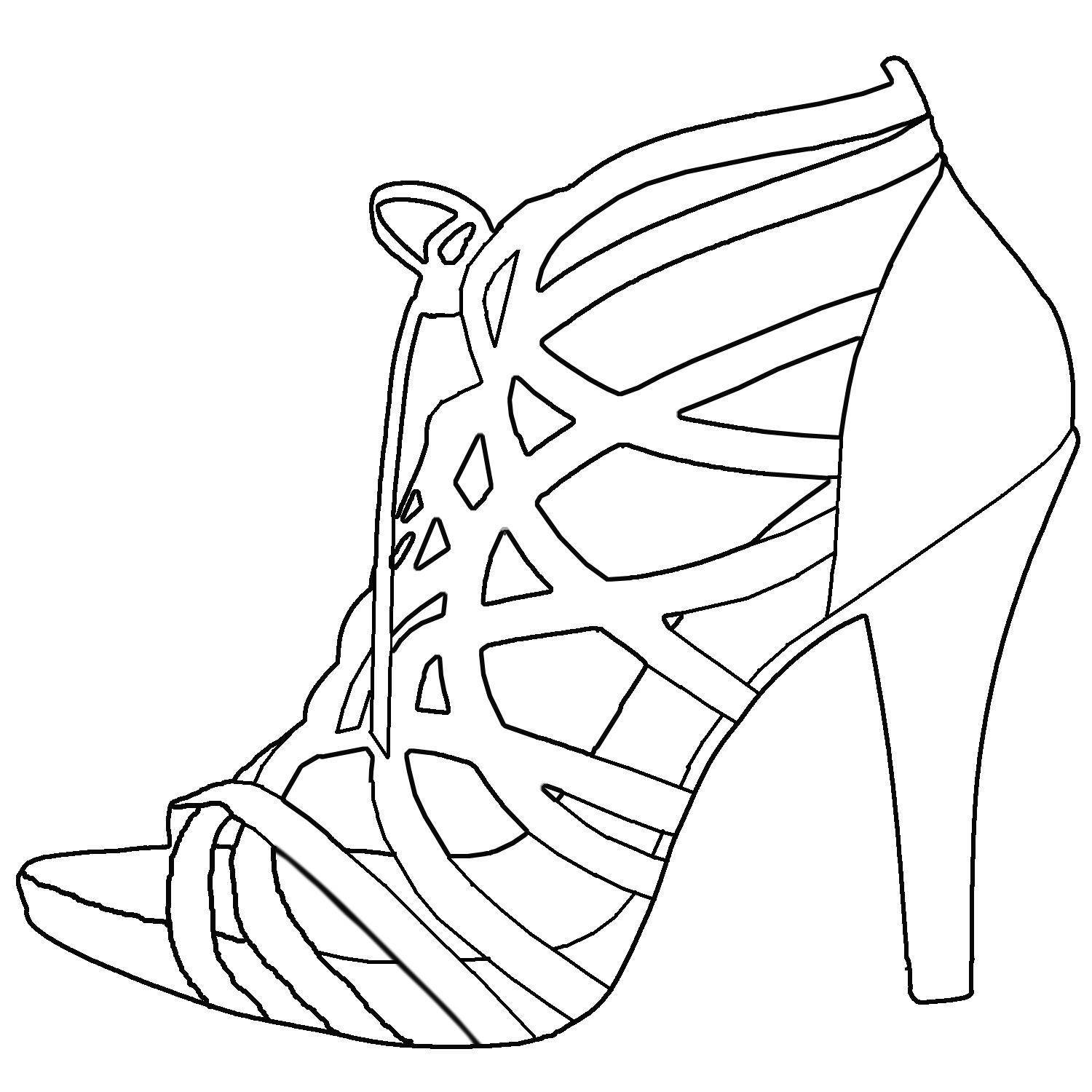 sketches of high heels high heel shoe drawing google search shoe design sketches heels high of