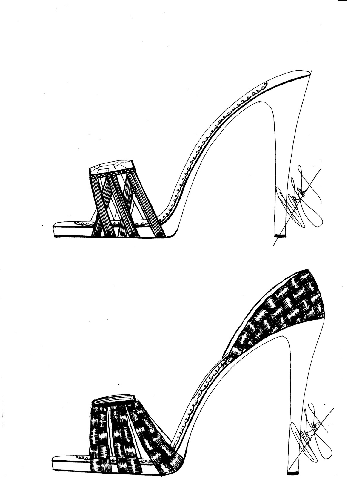 sketches of high heels how to draw a high heel shoe step by step drawing tutorials heels of high sketches