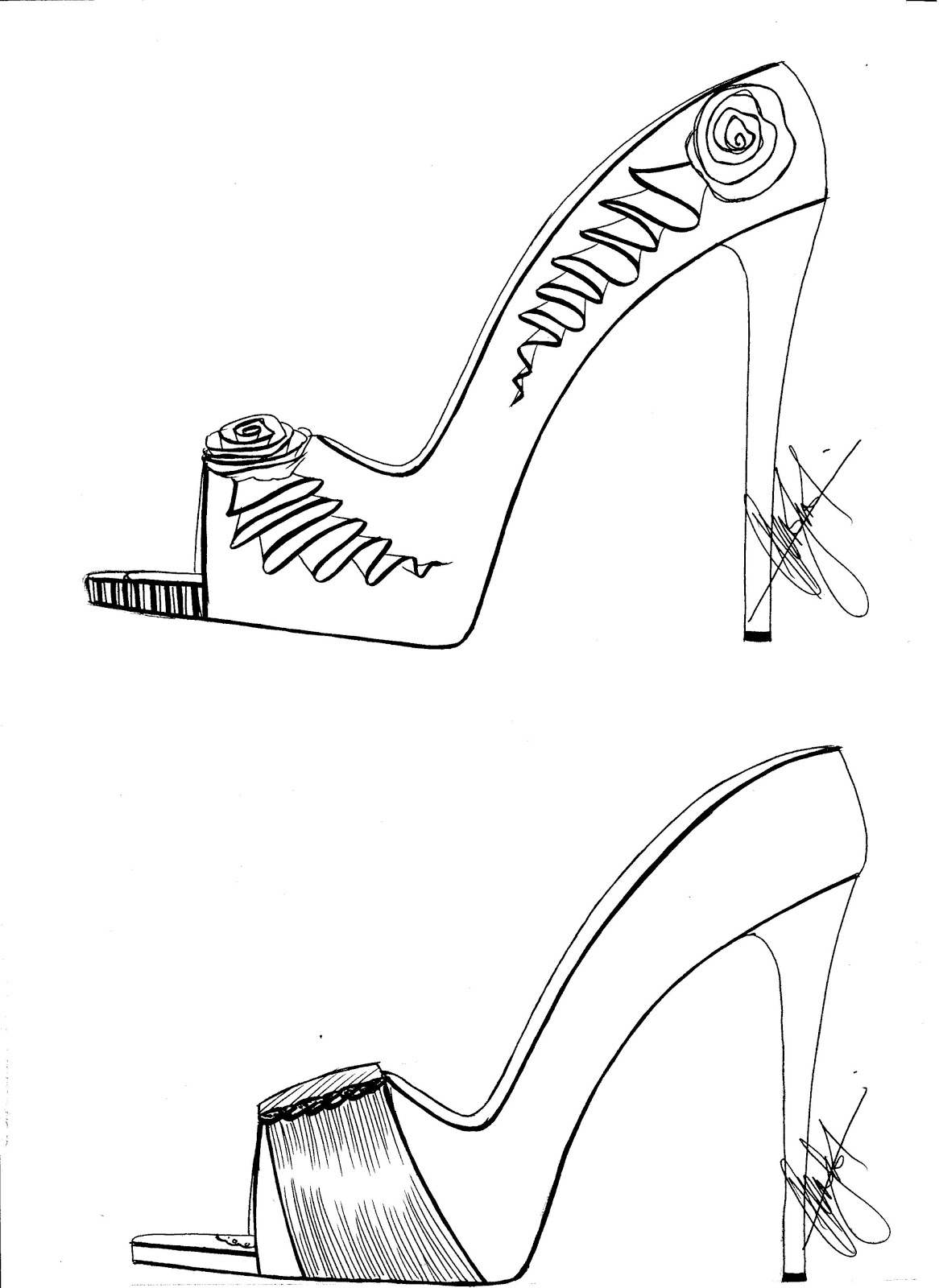 sketches of high heels stunning quothigh heelsquot drawings and illustrations for sale heels of high sketches