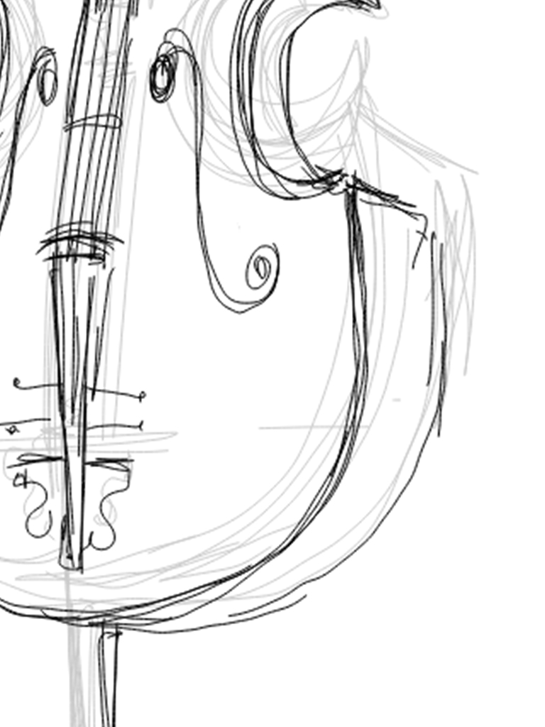 sketches of musical instruments 9 easy steps to draw a musical instrument using picsart musical instruments sketches of