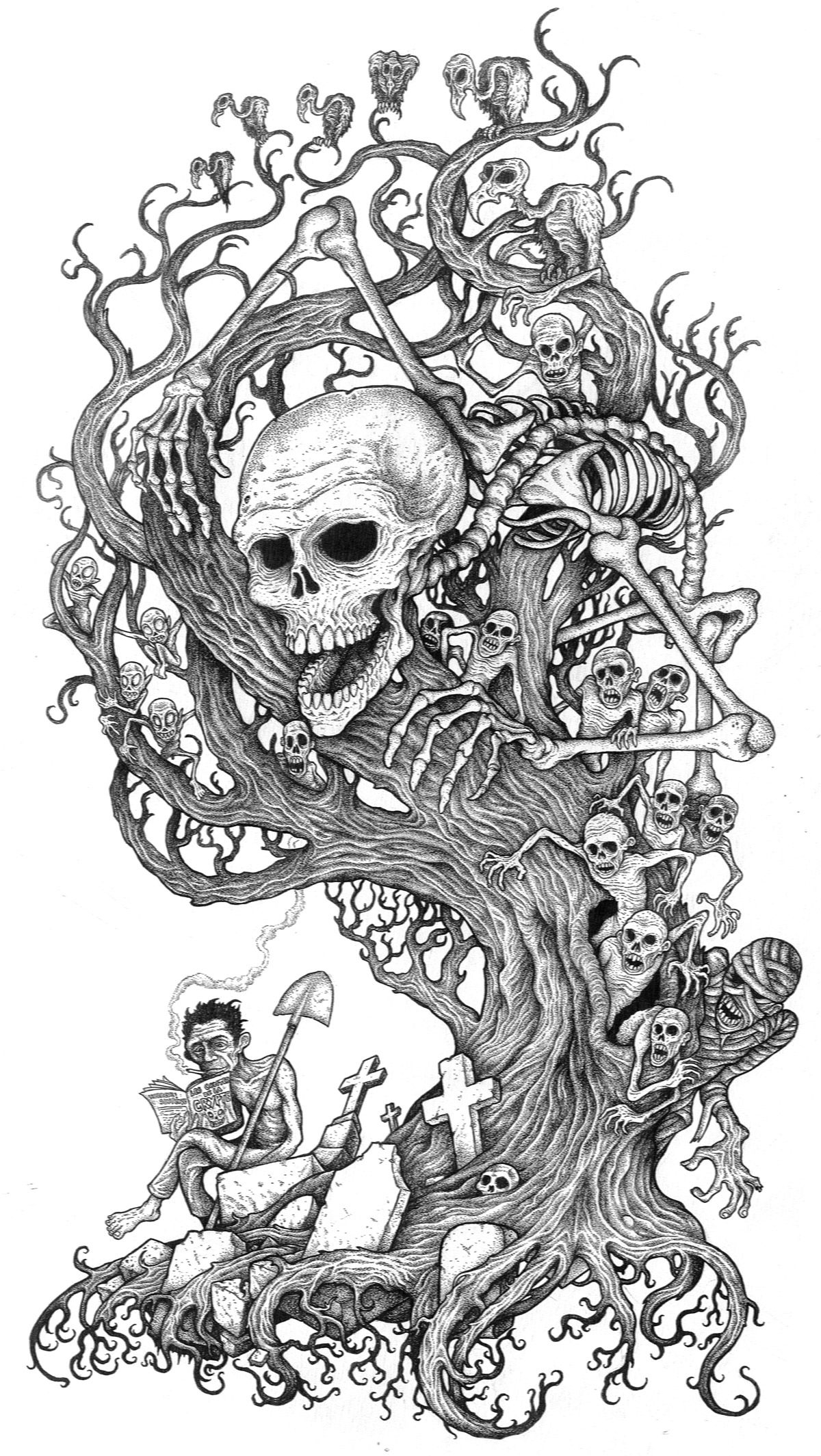 skull tattoo coloring pages free printable skull coloring pages for kids skull coloring skull tattoo pages