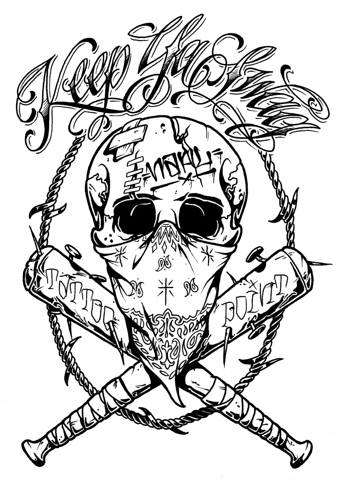skull tattoo coloring pages indian chief skull native american adult coloring pages coloring tattoo skull pages