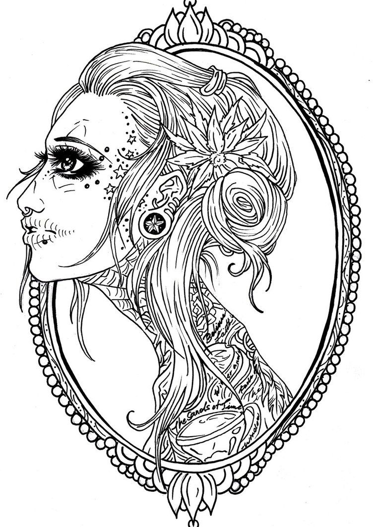 skull tattoo coloring pages pin by tasha pryde on printables skull coloring pages coloring skull tattoo pages