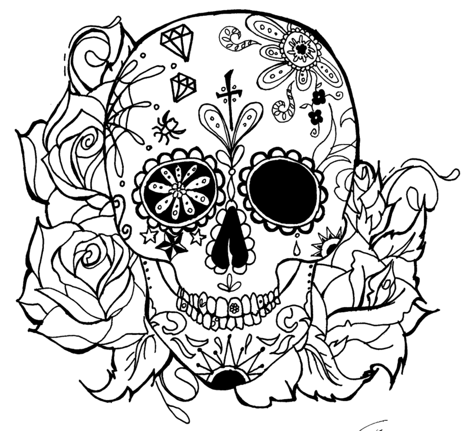 skull tattoo coloring pages sesame street coloring page tattoo page 6 skull coloring skull tattoo pages coloring