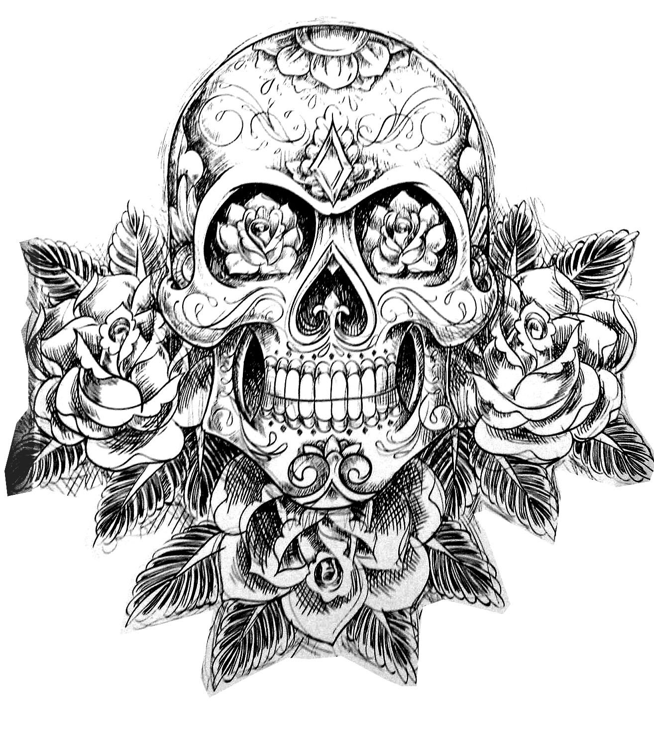 skull tattoo coloring pages tattoo simple skull tattoo tattoos adult coloring pages skull coloring pages tattoo