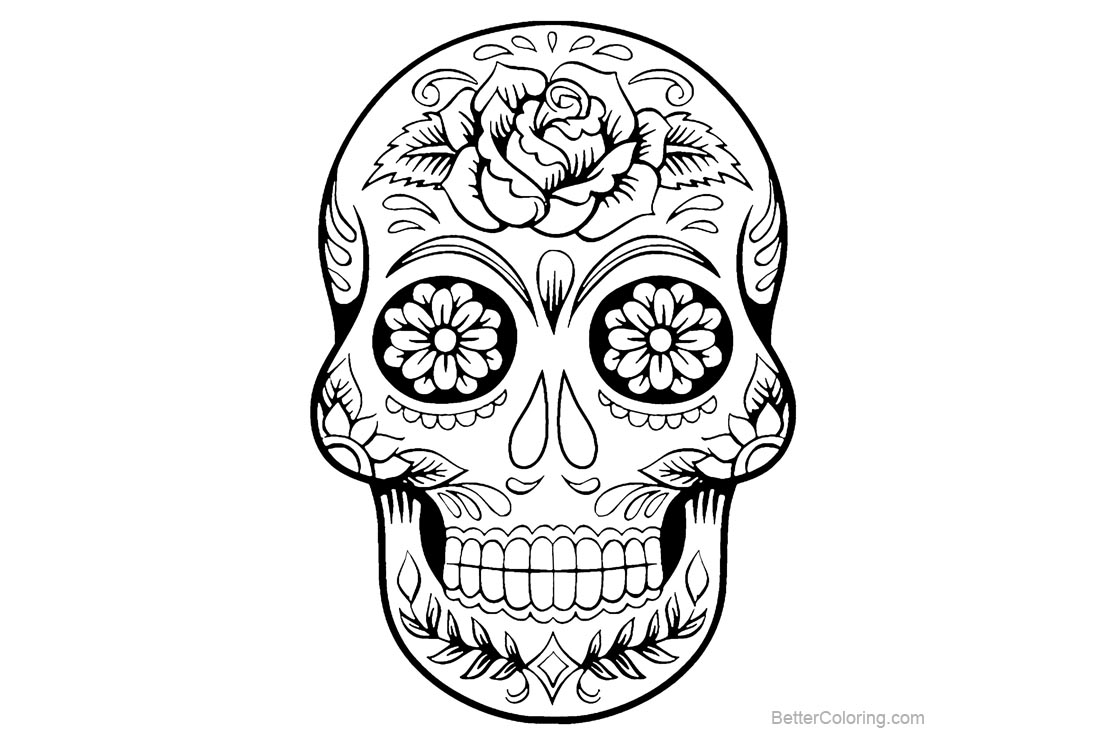 skull tattoo coloring pages tattoos book 2510 free printable tattoo stencils skulls coloring skull tattoo pages