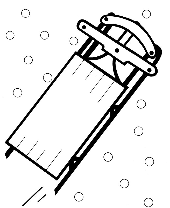 sled coloring sheet christmas sled coloring pages crafts and worksheets for coloring sled sheet