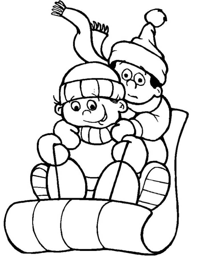 sled coloring sheet sled coloring page twisty noodle sheet coloring sled