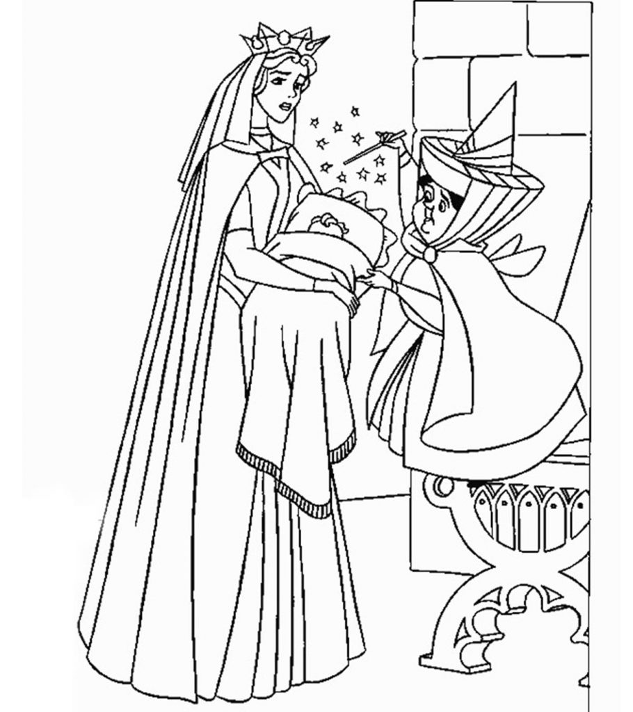 sleeping beauty coloring pages coloring pages sleeping beauty animated images gifs pages beauty sleeping coloring