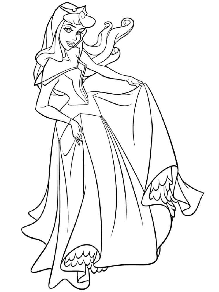 sleeping beauty coloring pages sleeping beauty ball coloring pages for kids printable coloring sleeping beauty pages