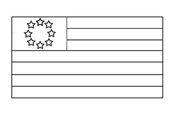 small american flag coloring page american flag coloring page for the love of the country page small flag american coloring