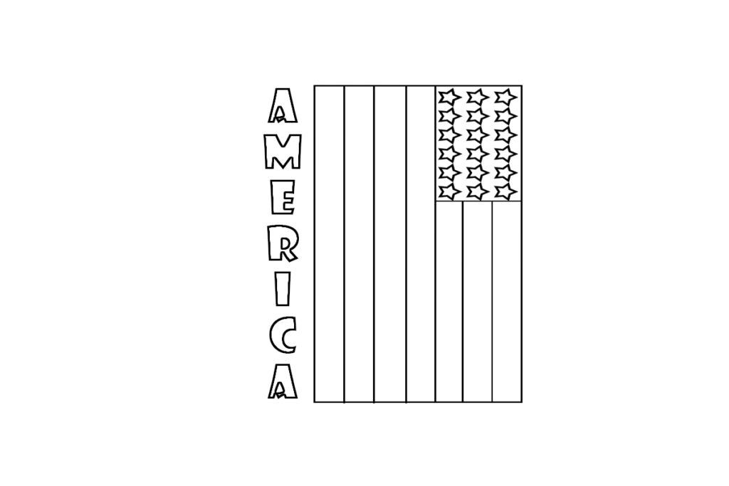 small american flag coloring page free american flag printable download free clip art free small coloring page american flag