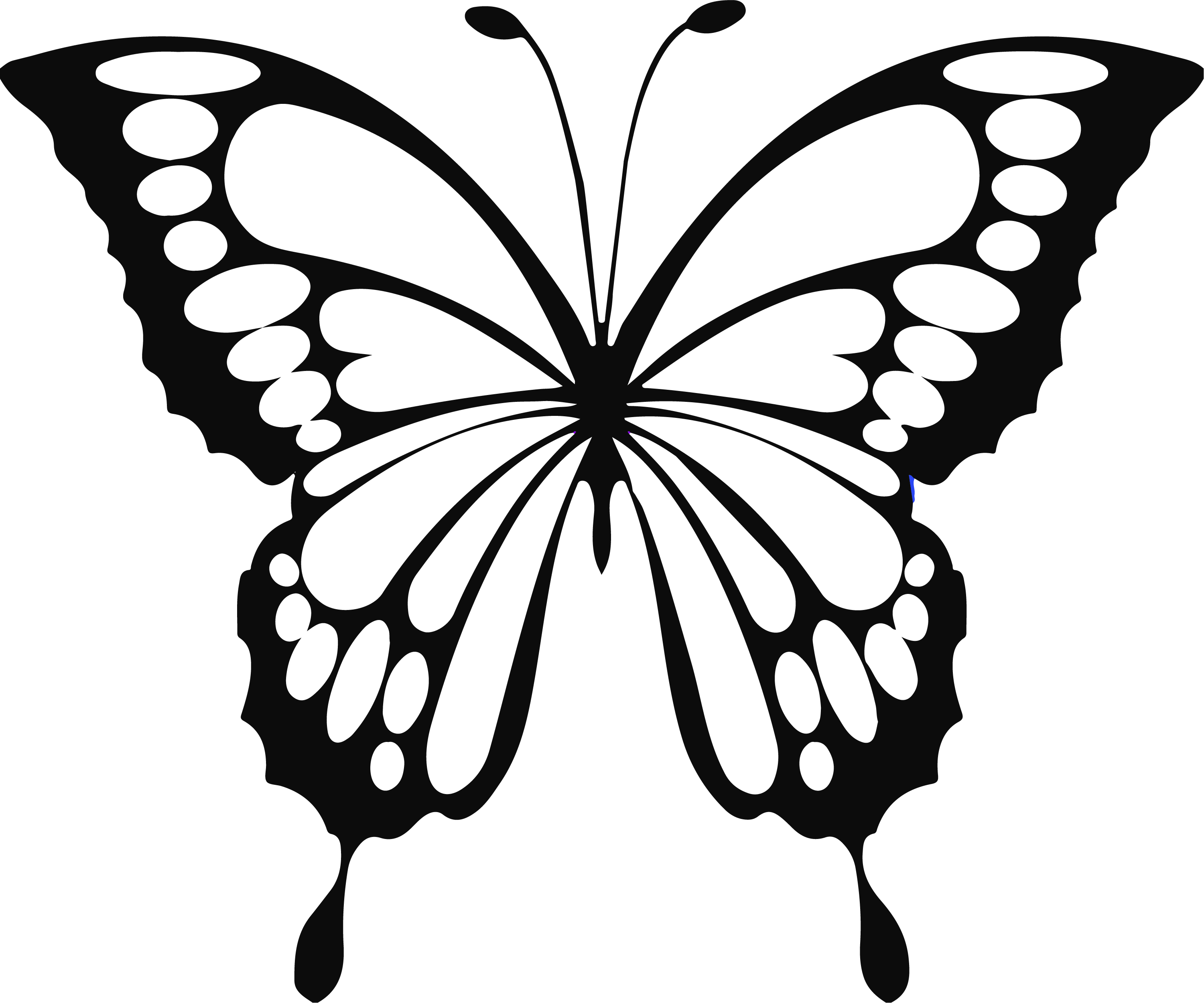 small butterfly coloring pages butterfly coloring pages cute for kids printable free coloring small pages butterfly