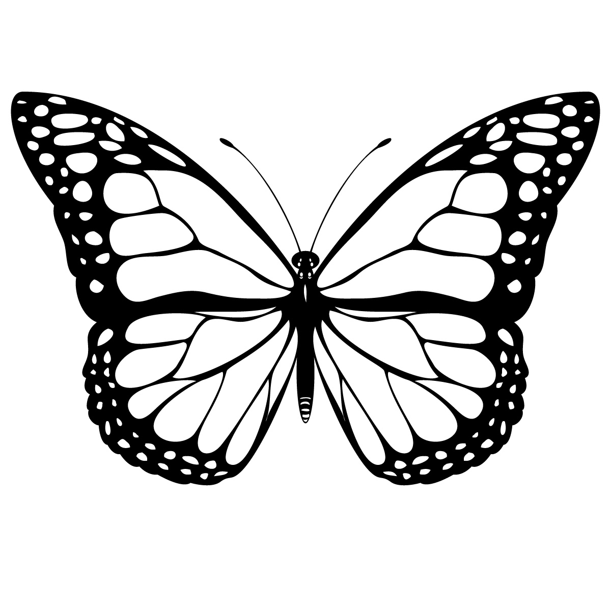small butterfly coloring pages monarch butterfly coloring pages download and print for free coloring butterfly pages small