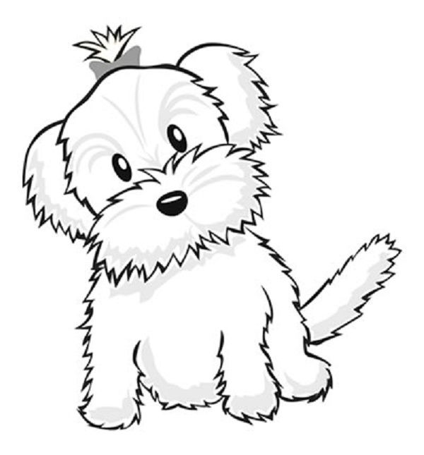 small puppy coloring pages christmas puppy colouring page activities kidspot coloring puppy pages small