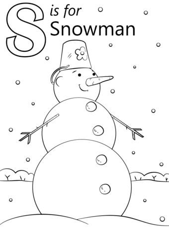 smore coloring sheet letter s is for snowman coloring page from letter s sheet smore coloring