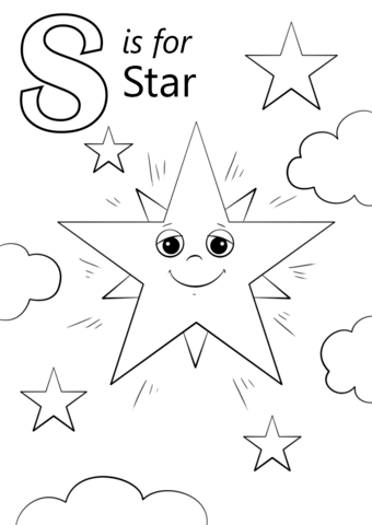 smore coloring sheet letter s is for star coloring page from letter s category smore coloring sheet