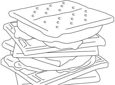 smore coloring sheet smores coloring pages coloring pages smore coloring sheet