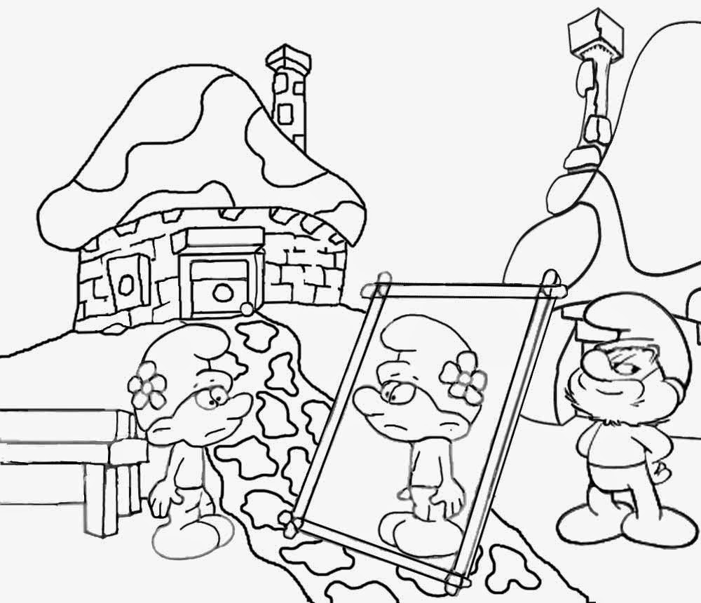 smurfs coloring book awesome communist smurf coloring page coloring pages coloring book smurfs
