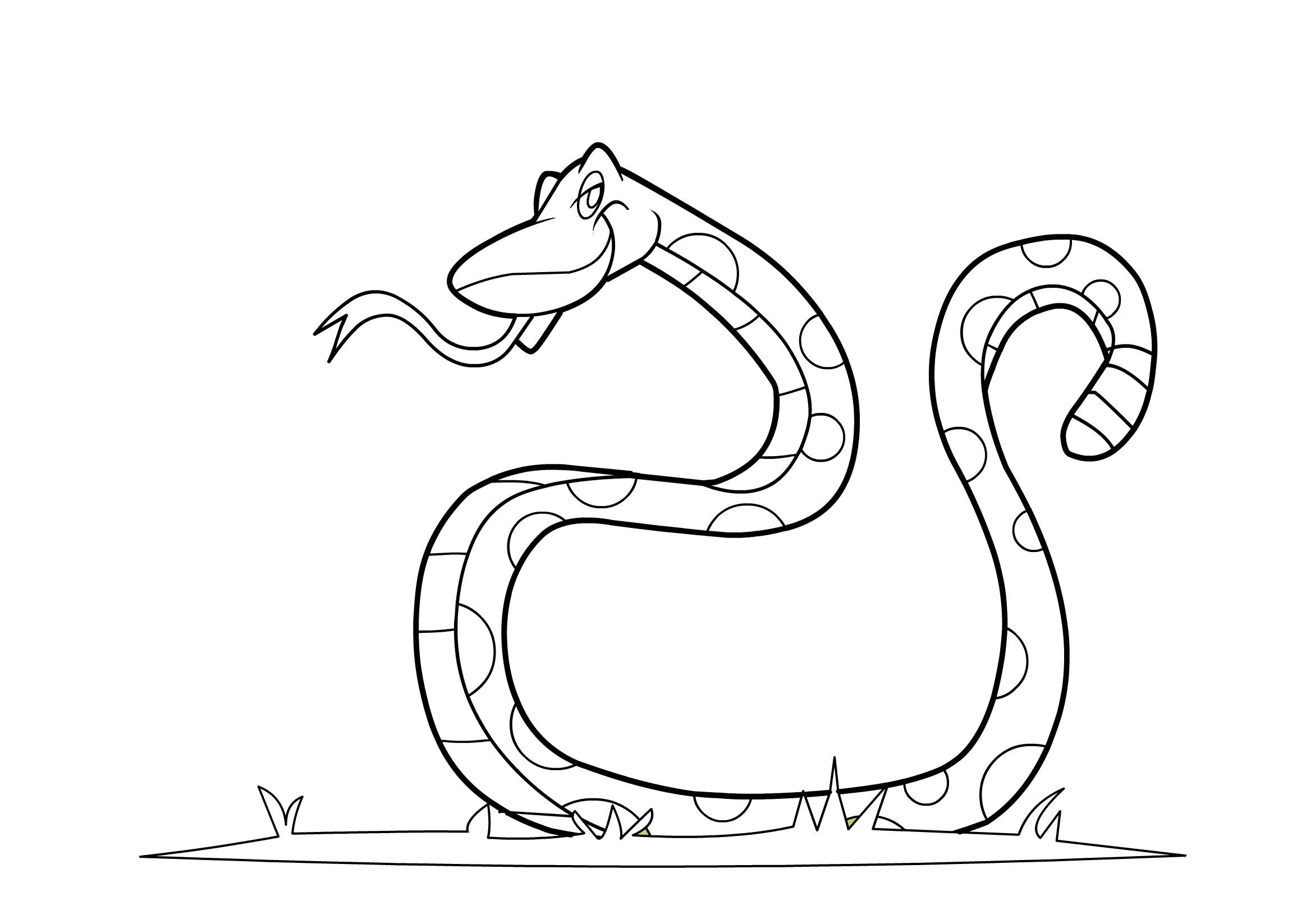 snake pictures to color and print cool snakes coloring pages coloring home pictures print color to and snake