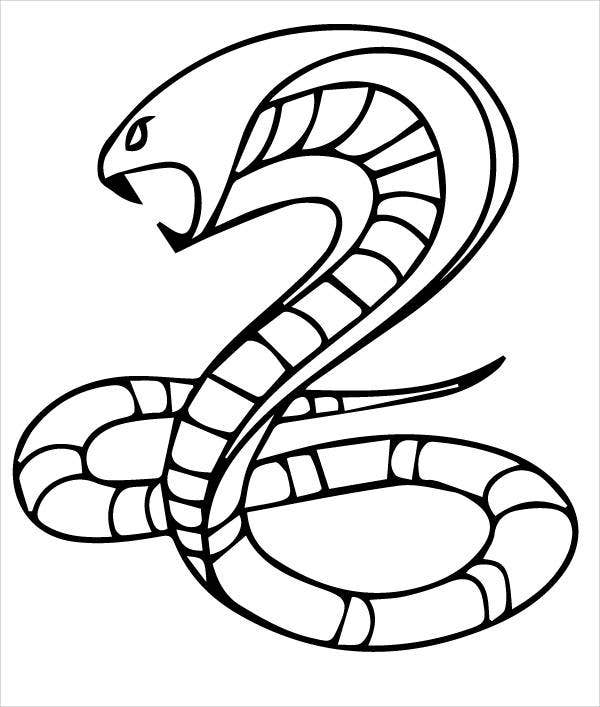 snake to colour in free printable snake coloring pages for kids colour snake to in 1 2