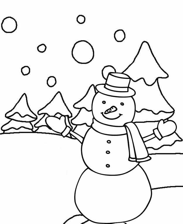 snowman coloring free printable snowman coloring pages snowman coloring