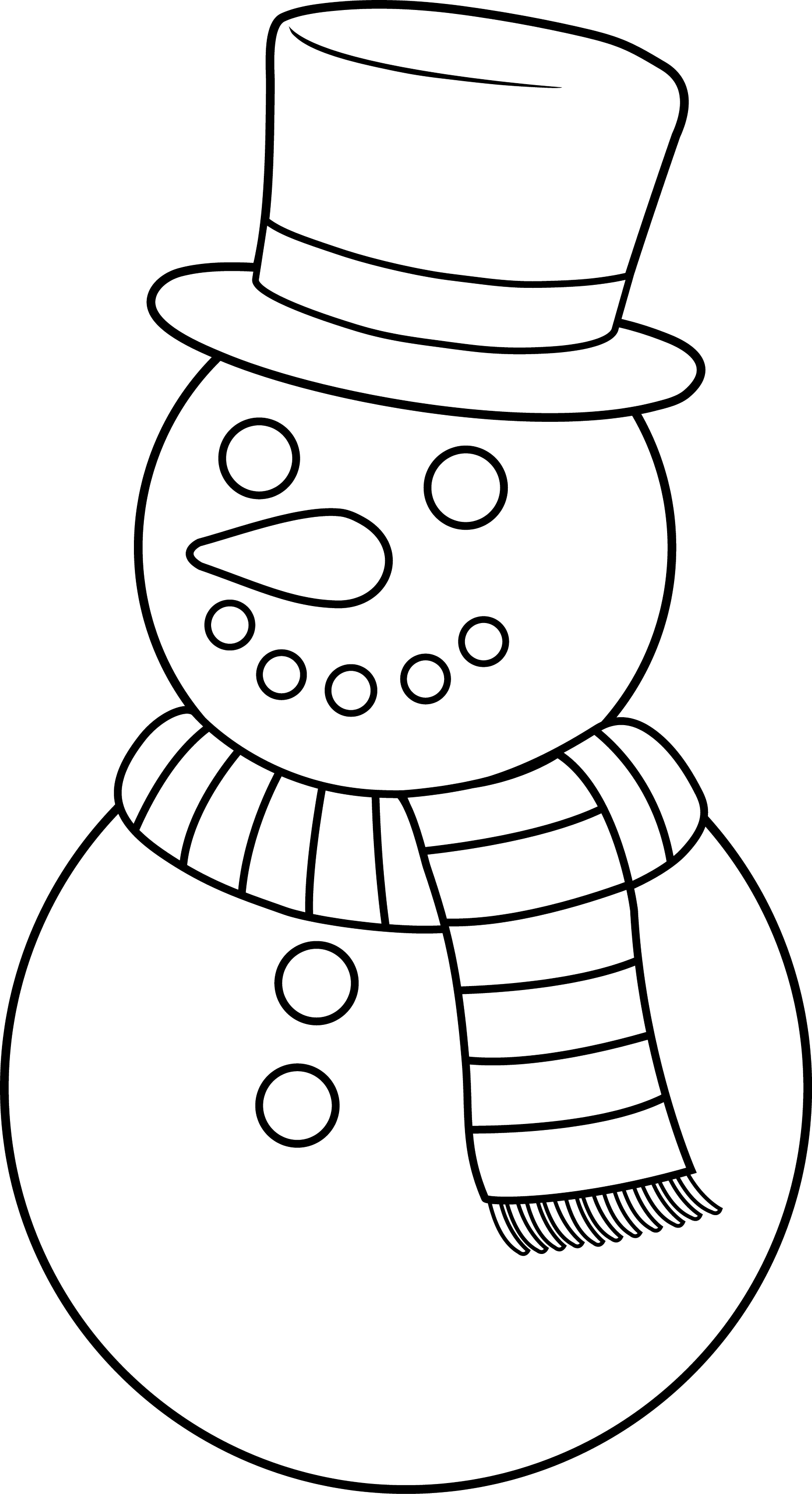 snowman coloring page colorable christmas snowman free clip art snowman coloring page