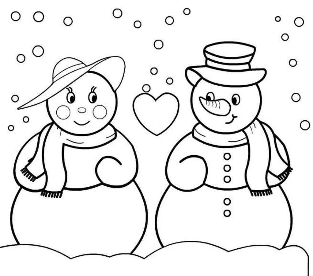 snowman coloring page coloring pages christmas snowman coloring pages free and snowman page coloring