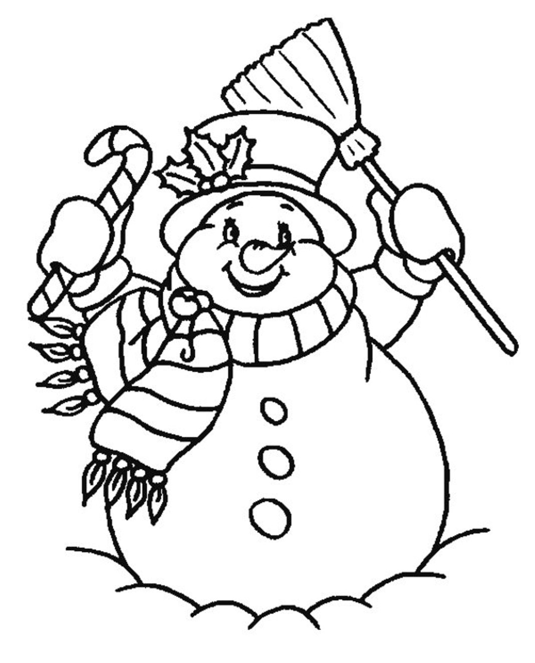 snowman coloring page coloring pages christmas snowman coloring pages free and snowman page coloring 1 1