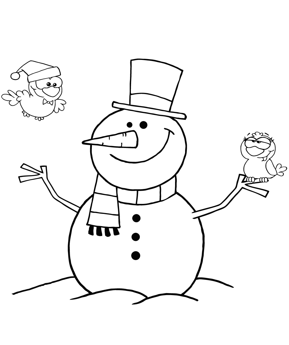 snowman coloring page snowman coloring pages to download and print for free coloring snowman page