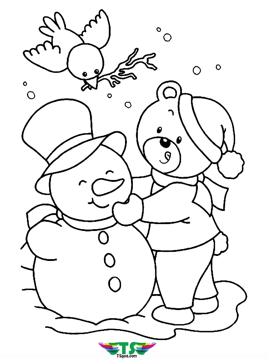 snowman coloring sheet coloring pages holidays free downloads snowman sheet coloring