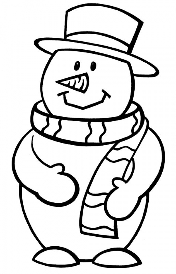 snowman coloring snowman coloring pages free download on clipartmag snowman coloring