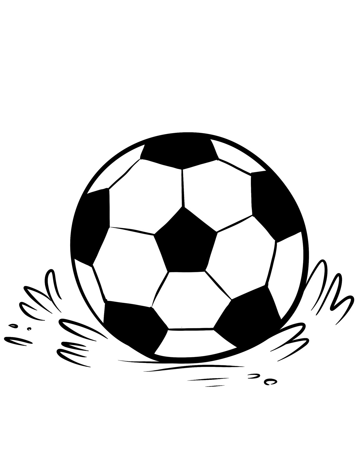 soccer ball coloring page colouring soccer ball clipart best ball coloring soccer page