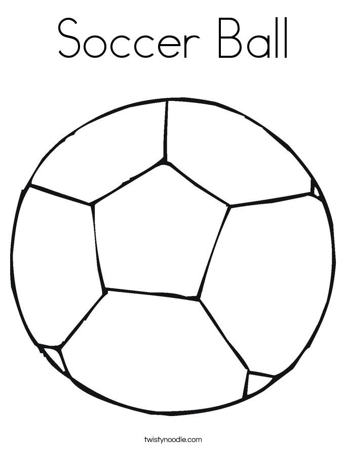 soccer ball coloring page cool soccer ball outline coloring page soccer ball page coloring ball soccer