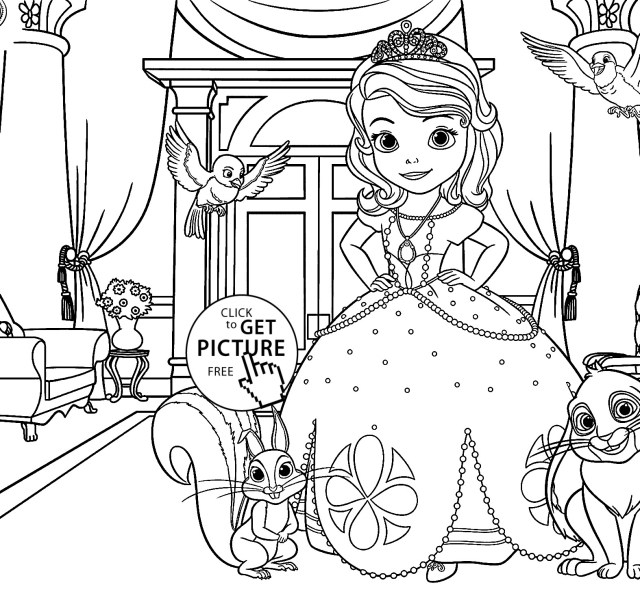 sofia first coloring pages sofia the first coloring pages coloring sofia first pages