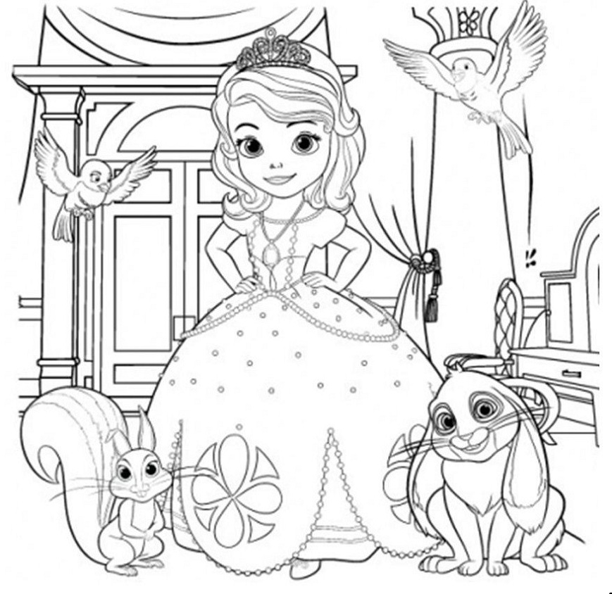 sofia first coloring pages sofia the first coloring pages free printable sofia the sofia coloring first pages