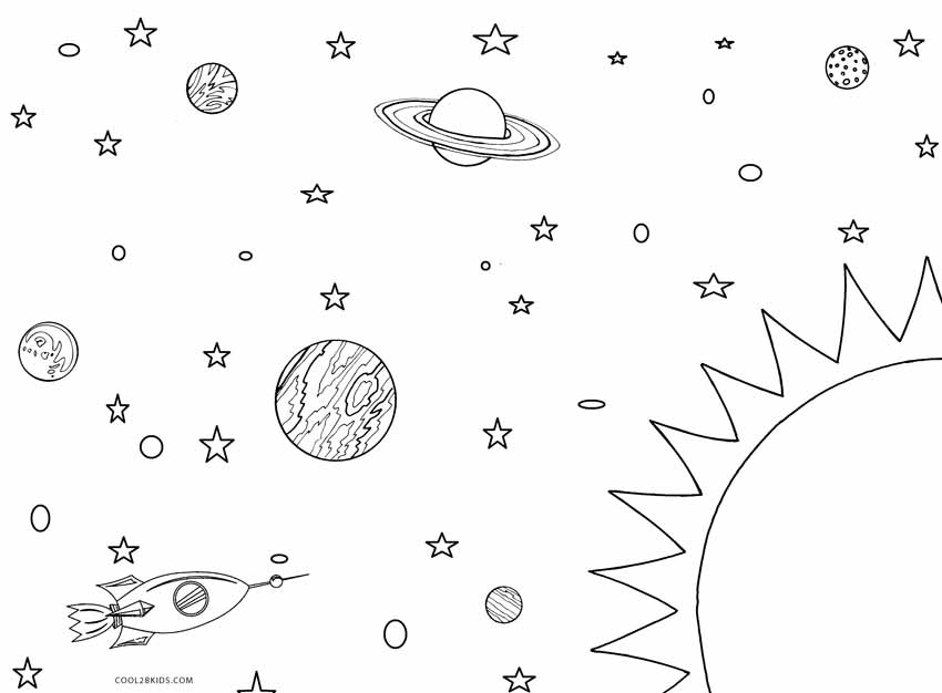 solar system colouring pages color the solar system pages system solar colouring