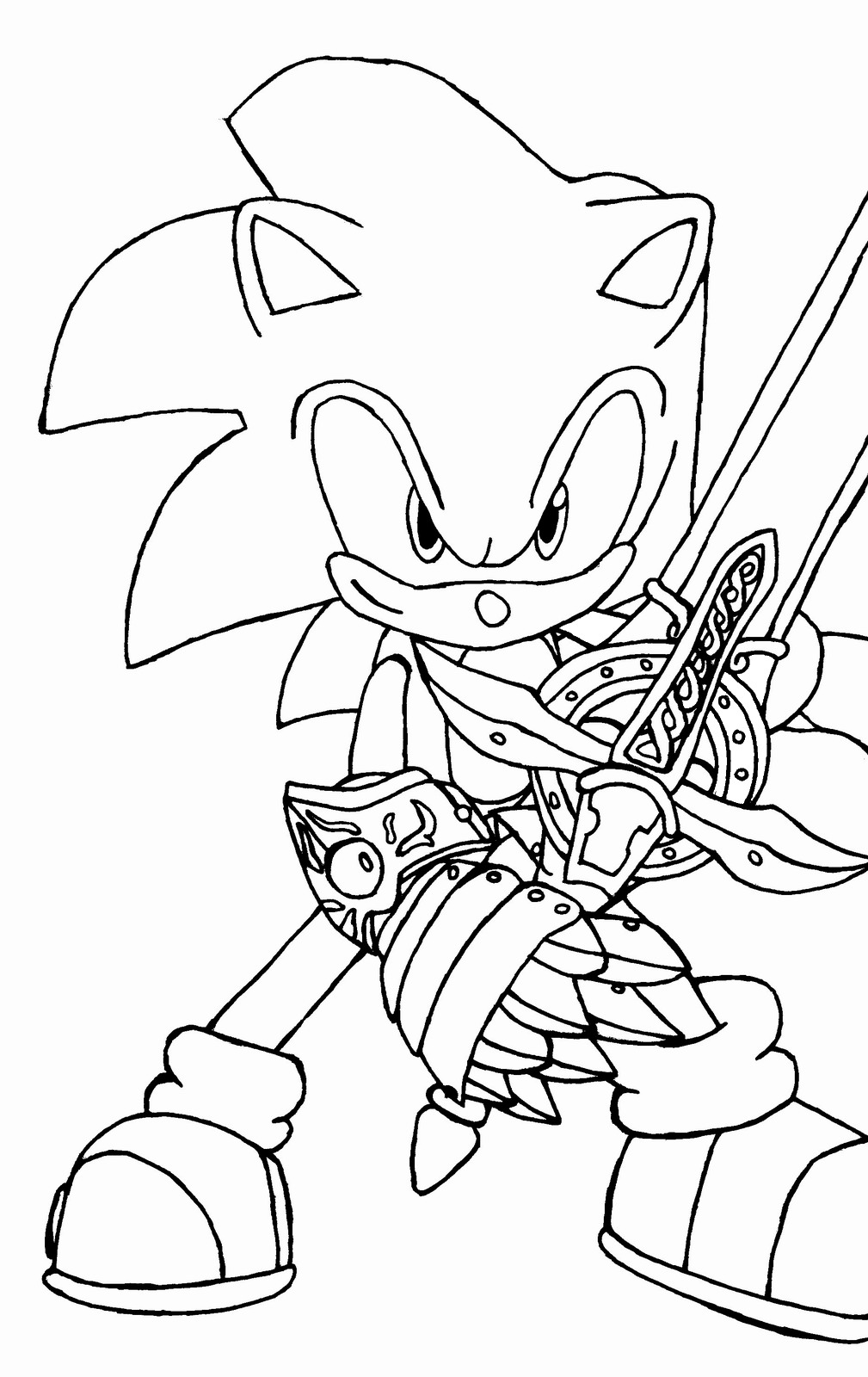 sonic the hedgehog coloring page free printable sonic the hedgehog coloring pages for kids page coloring the hedgehog sonic
