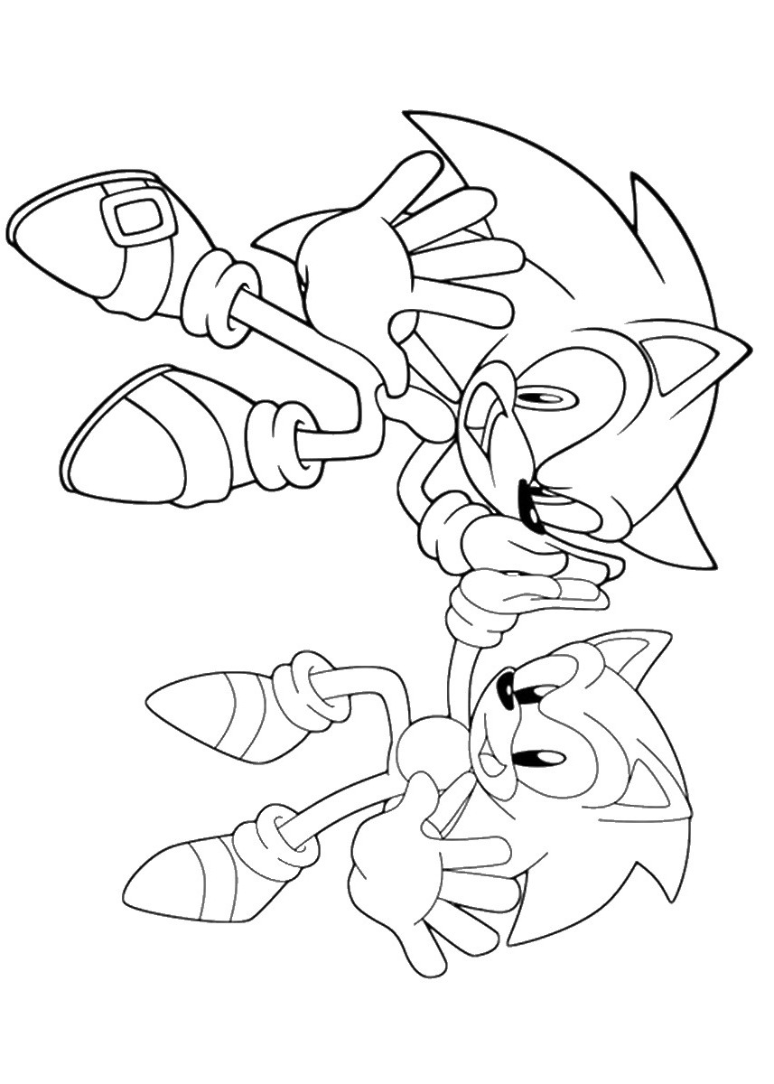 sonic the hedgehog coloring page free printable sonic the hedgehog coloring pages for kids page sonic coloring the hedgehog