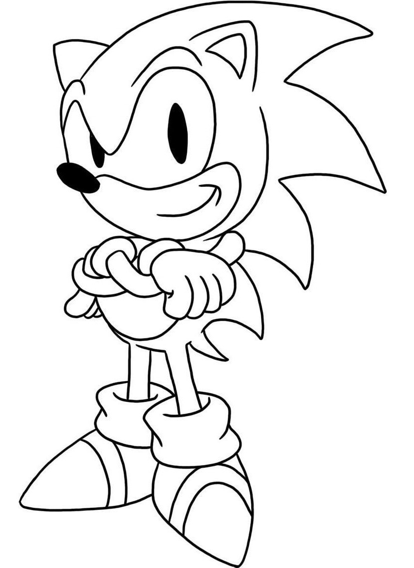 sonic the hedgehog printables sonic the hedgehog coloring pages sonic the printables hedgehog
