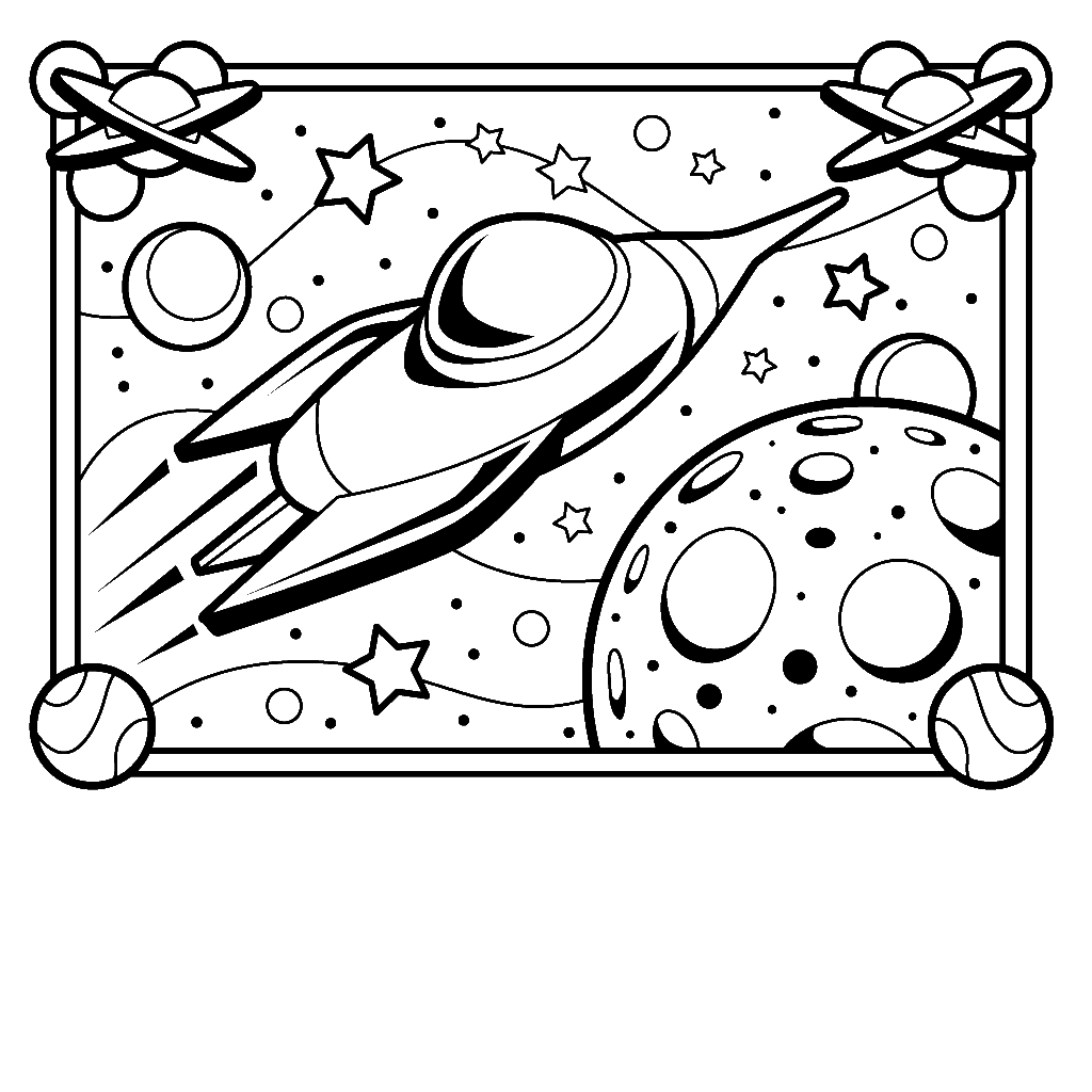 space coloring pages to print astronaut outer space coloring page coloring home coloring print space to pages